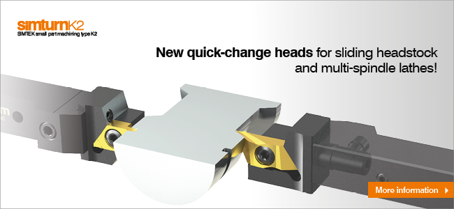 New toolholders suitable for the quick-change system